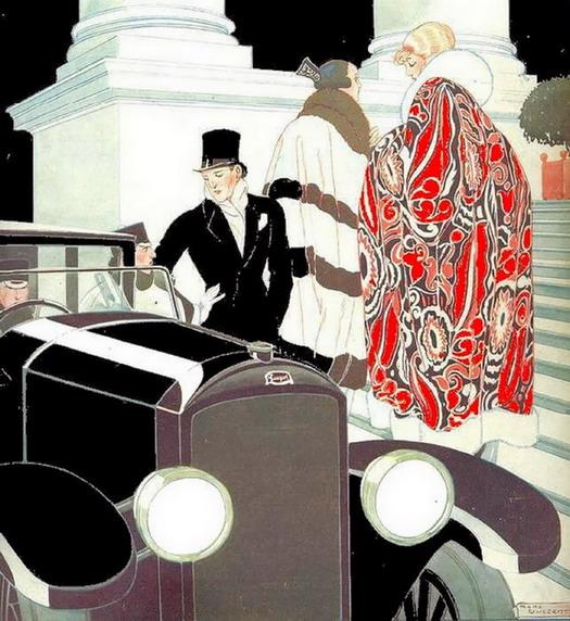 Glamourous life, circa1920