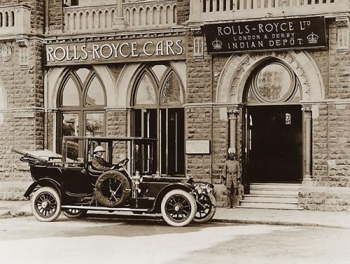 Rolls Royce dealership, India,1910s