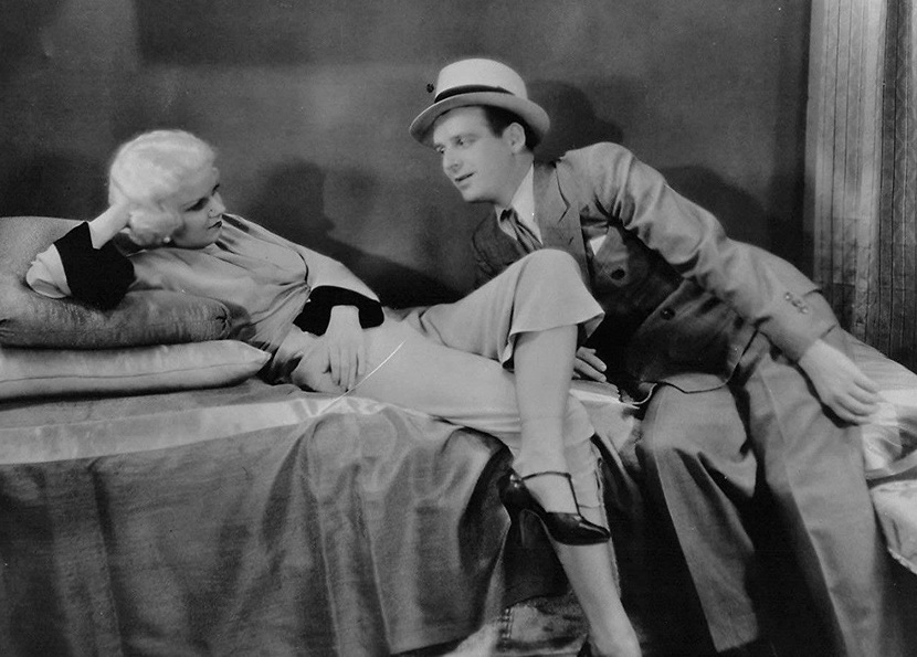 """Jean Harlow and Wallace Ford in """"The Beast of the City"""",1932"""