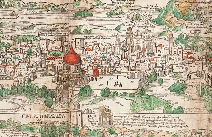 Jerusalem, 1400s