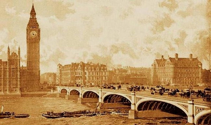 London, circa 1860
