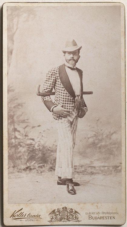 Vintage Hungarian man
