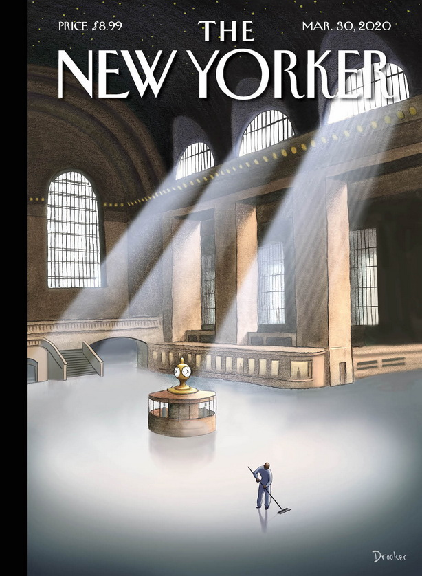 "Current ""New Yorker' magazine cover"