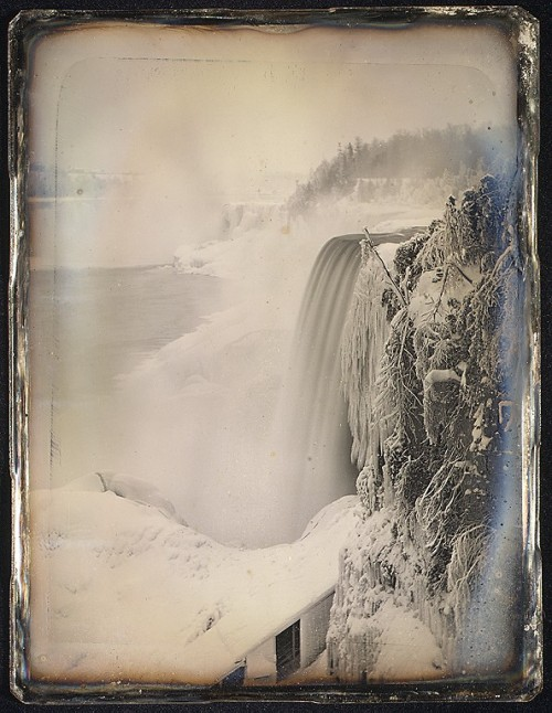 Niagara Falls in Winter, circa 1900