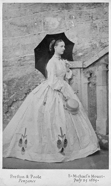 Princess Alexandra of Denmark later Queen Alexandra of  UK, Cornwall,1800s