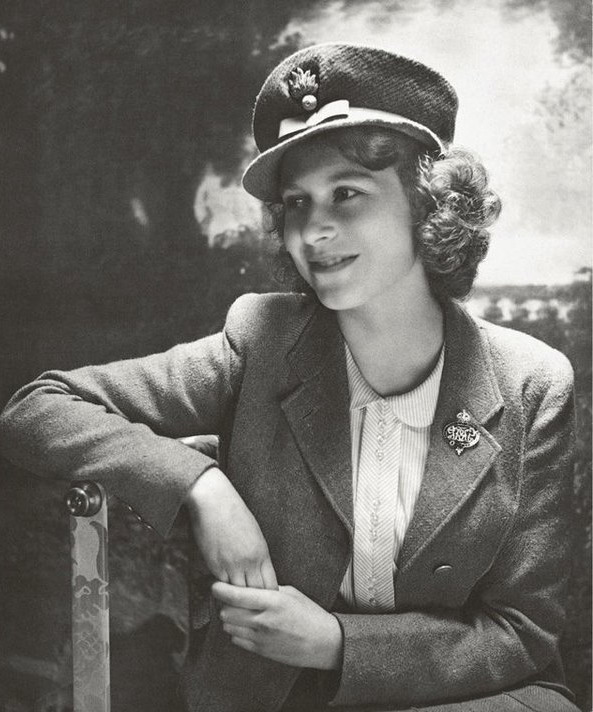 Princess Elizabeth (later QEII), who was an ambulance driver during WWII