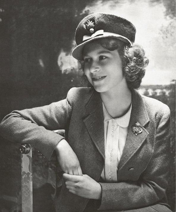 Princess Elizabeth (later QEII), who was an ambulance driver duringWWII