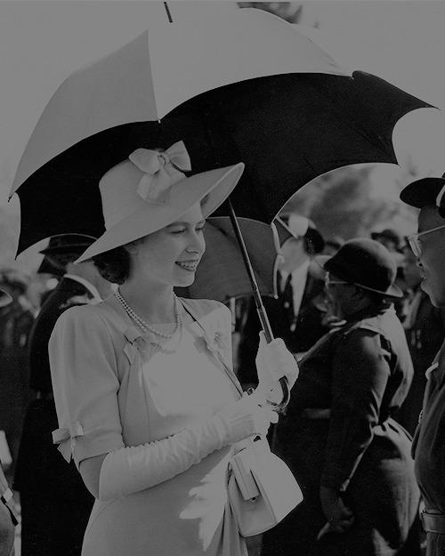Princess Elizabeth (later QE II), Africa,1950s