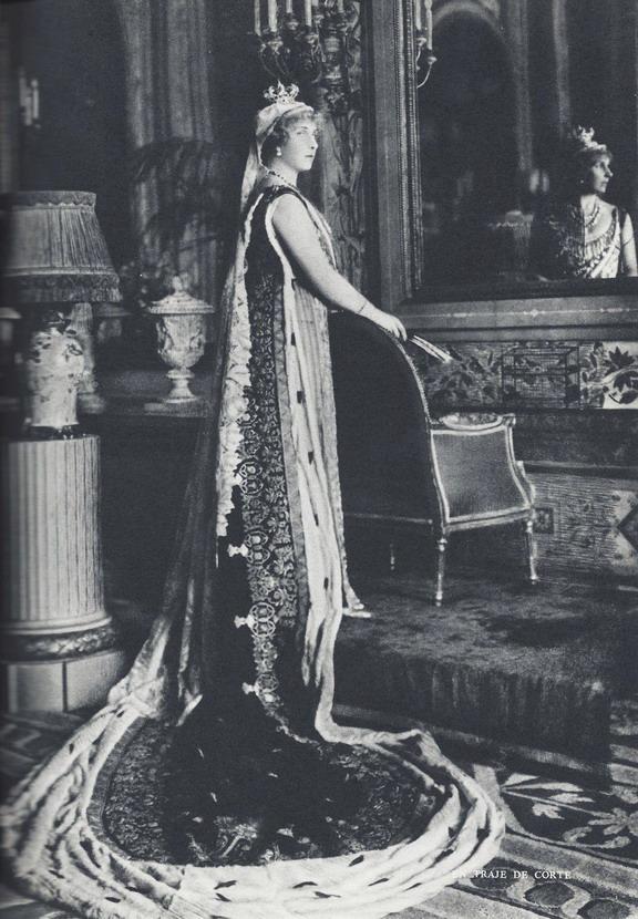 Queen Victoria Eugenia Julia Ena of Battenberg ofSpain