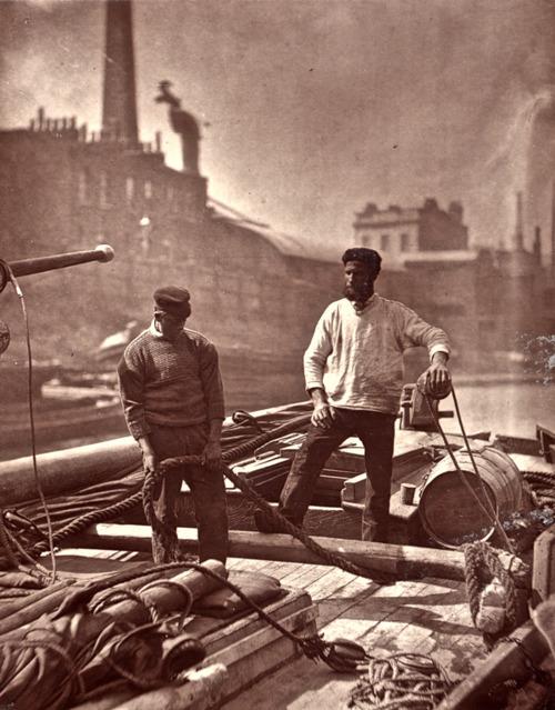 River boat life,1800s