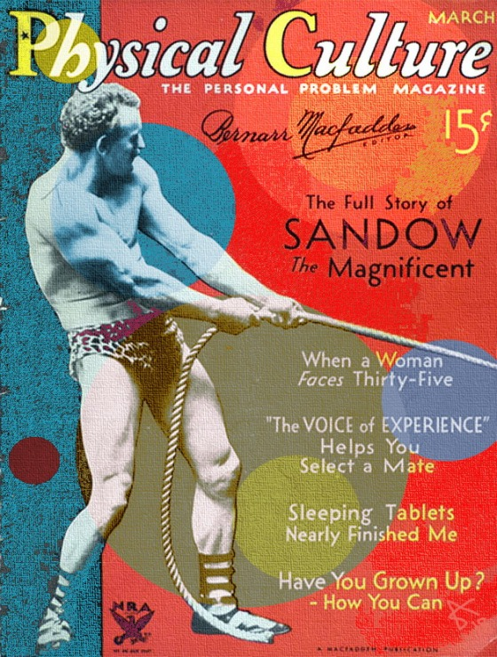 SANDOW PHYSICAL CULTURE H