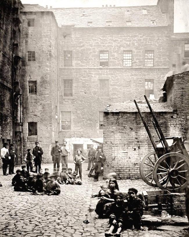 Glasgow, Scotland, 1860s