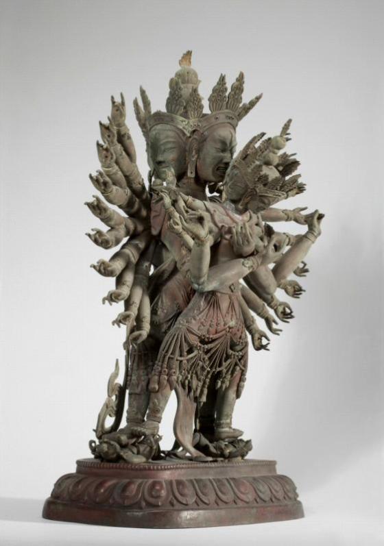 The Buddhist Deity Guhyasamaja 002