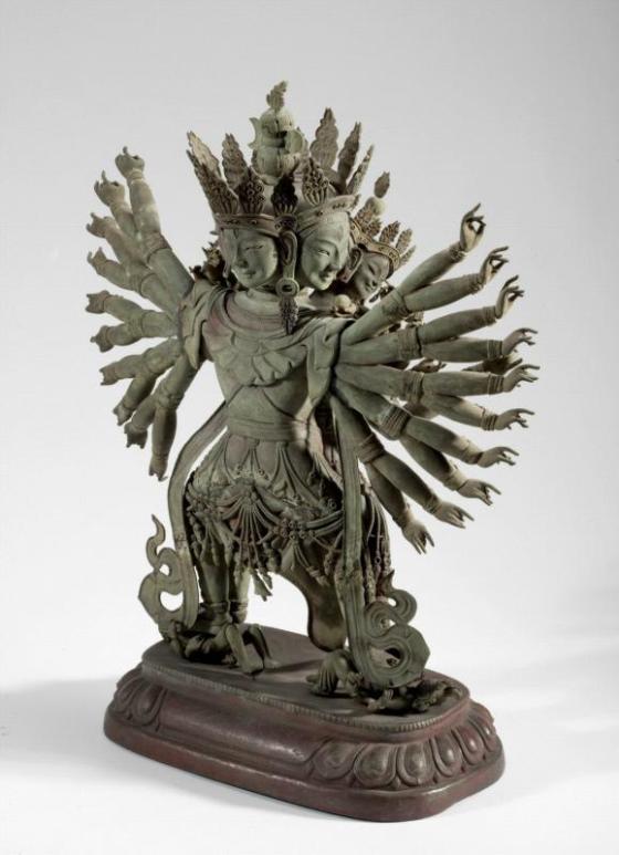 The Buddhist Deity Guhyasamaja 003