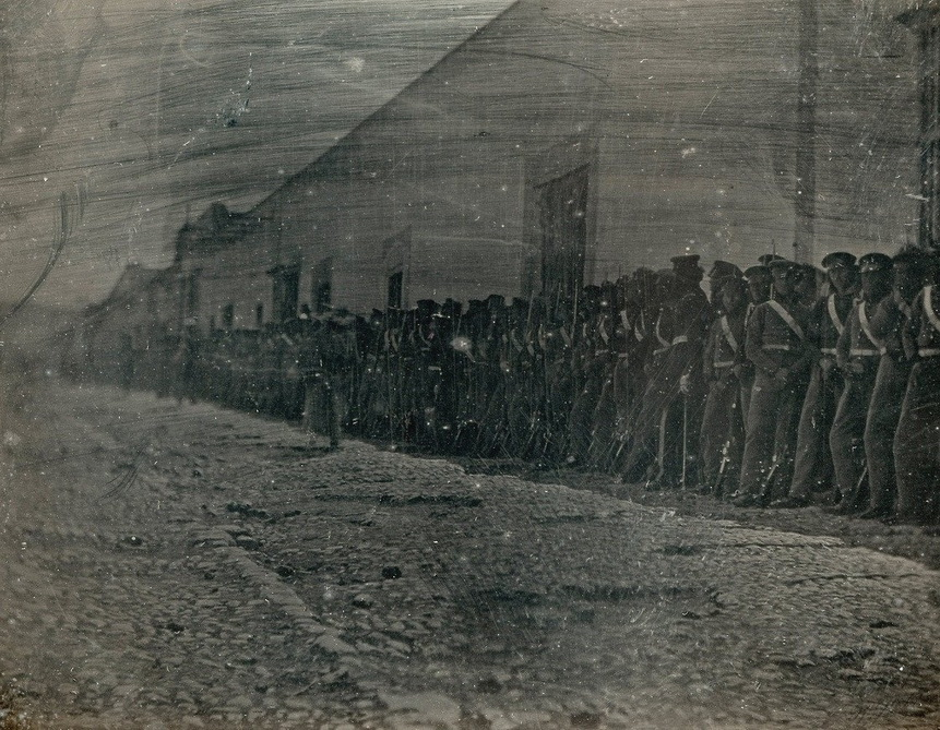 American troops in Mexico during the US-Mexico War, 1840s