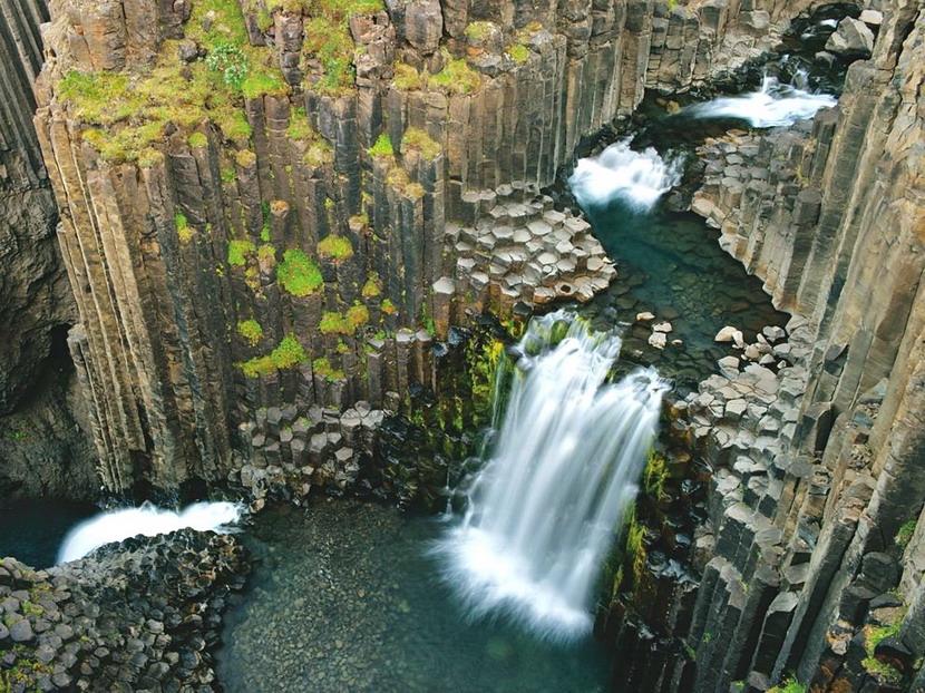 Waterfalls, Iceland