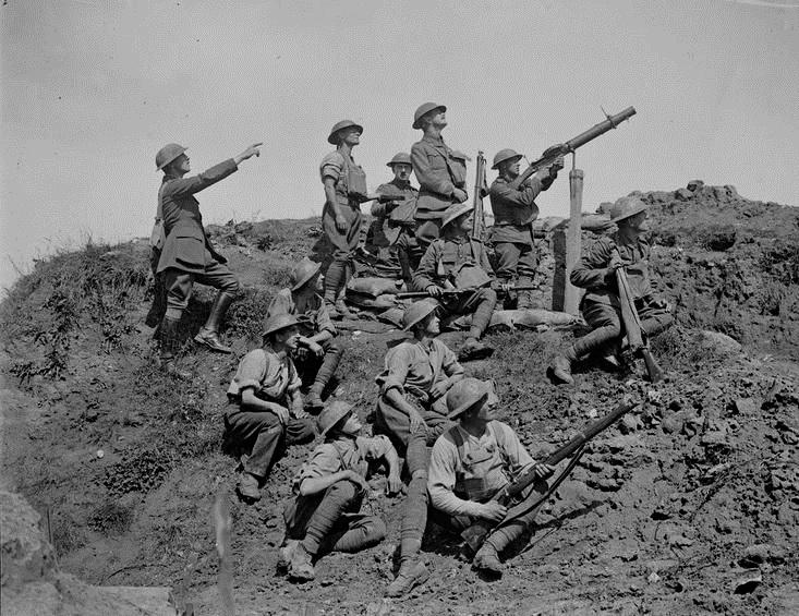 British Anti-Aircraft Unit,WWI