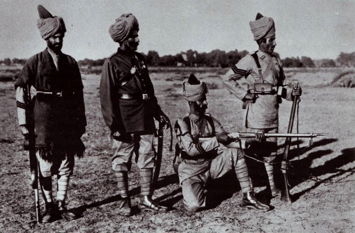 British Indian soldiers,WWI