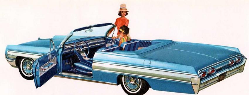 1962 Oldsmobile Starfire ConvertibleCoupe