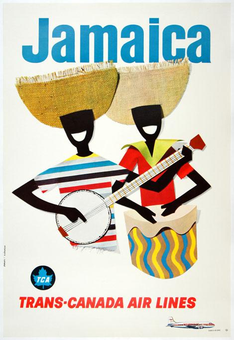 Canadian ad for Jamaica, circa1960