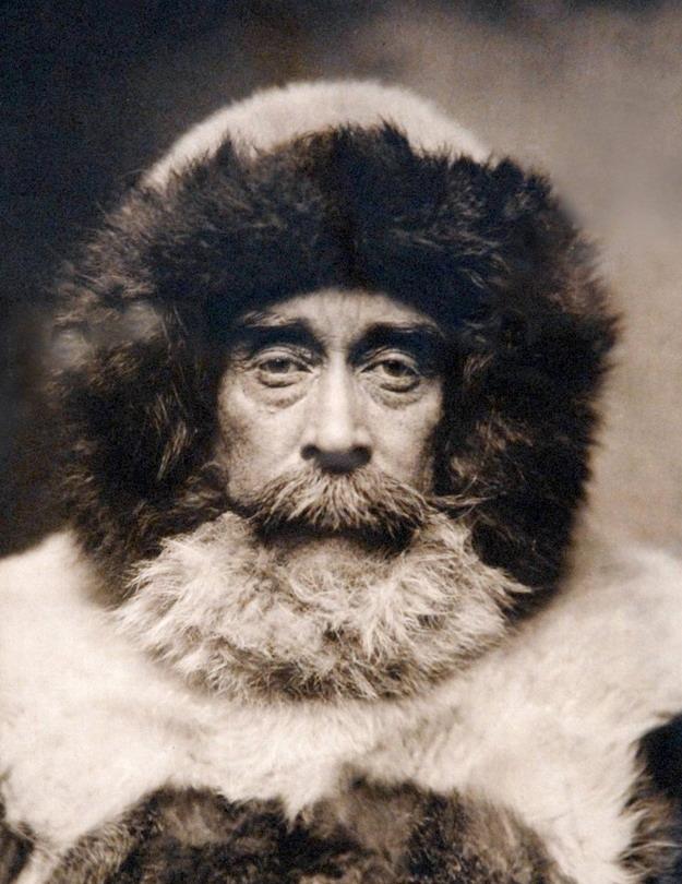 Robert Peary, American explorer of the Arctic, circa1909