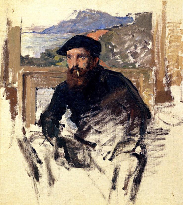 Claude Monet, Self Portrait,1884