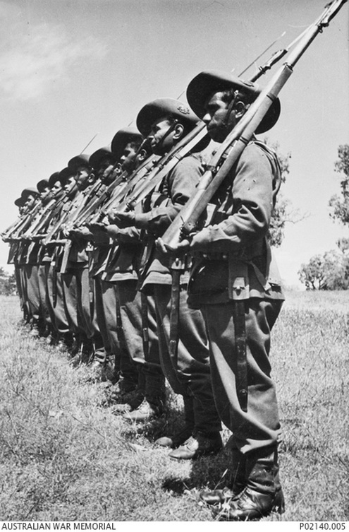Aborigine battalion, Australia,WWII