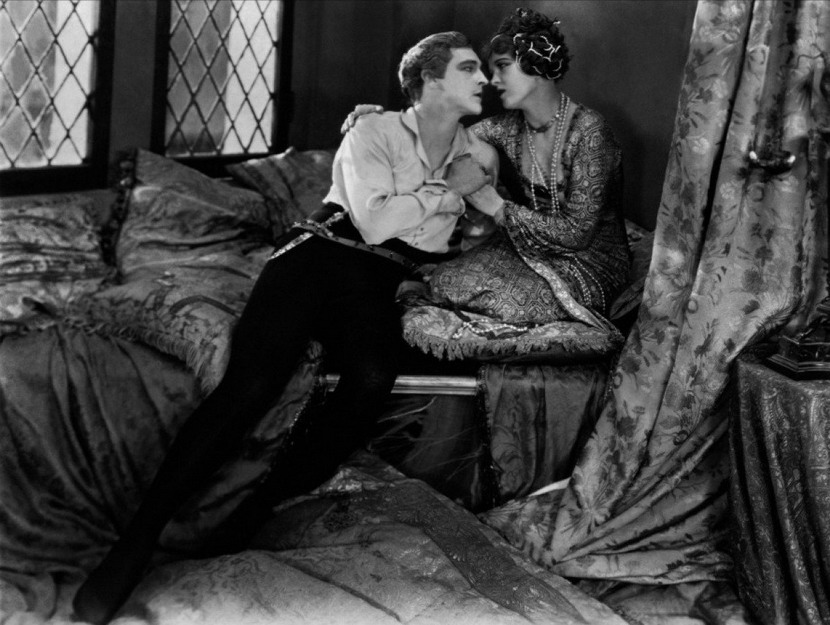 Silent movie moment, Lionel Barrymore and ?