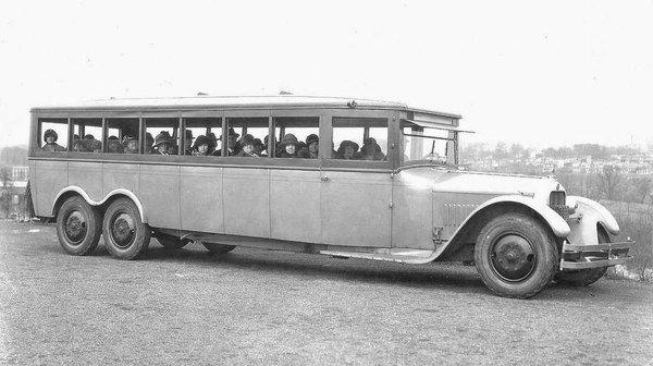 1920s Touring Bus