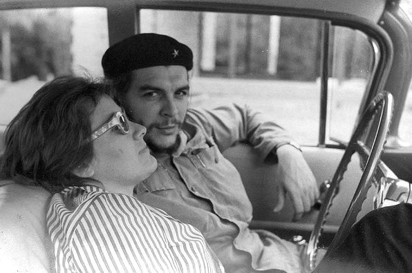 Che Guevara and his wife