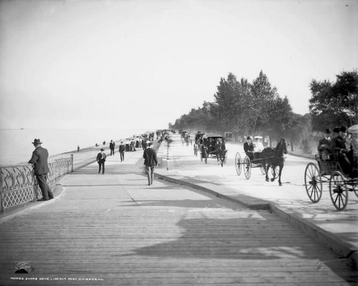 Lake Shore Drive, Chicago,1800s