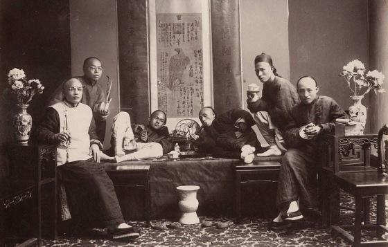 chinese opium den 412