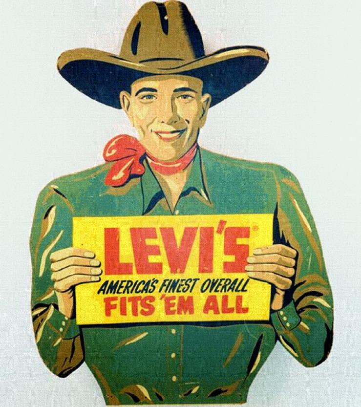 Vintage Levi's Ad