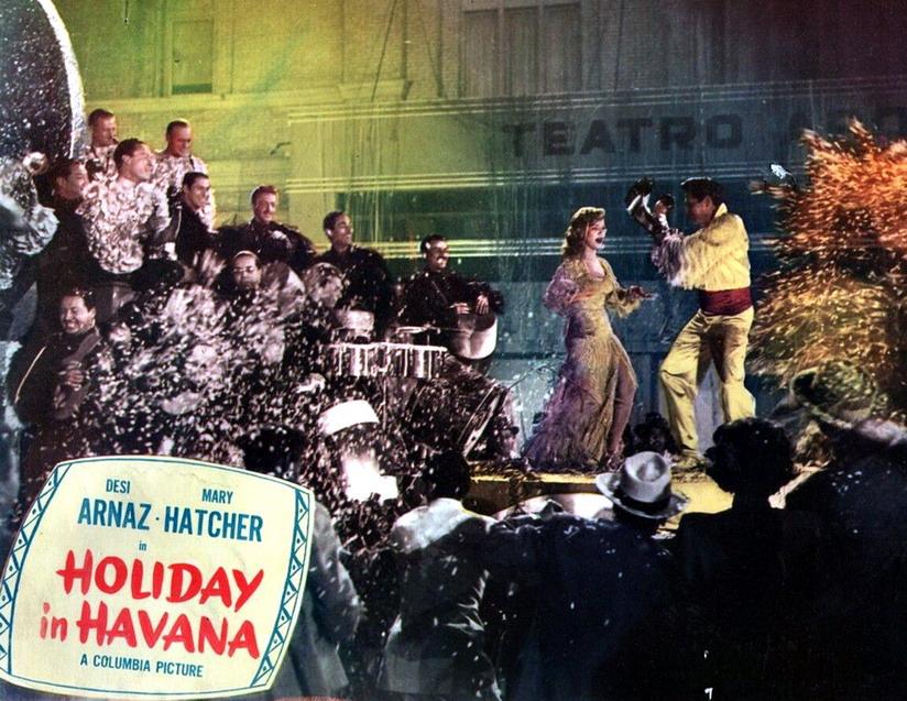 "Desi Arnaz in ""Holiday in Havana"",1949"