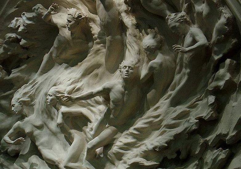 Relief frieze 'Ex Nihilo' by FrederickHart