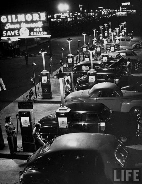 gas station 1948