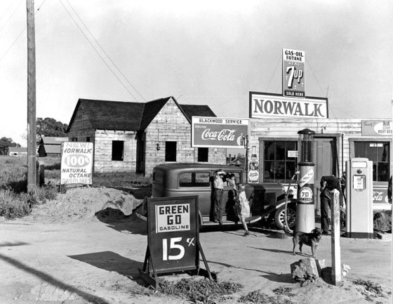GAS STATION 30s