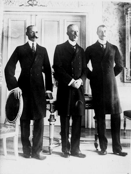 Scandinavian Kings, 1914 (Haakon VII of Norway, Gustav V of Sweden, and Christian X ofDenmark)