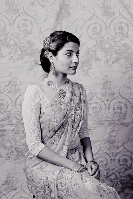 Vintage Indian Woman