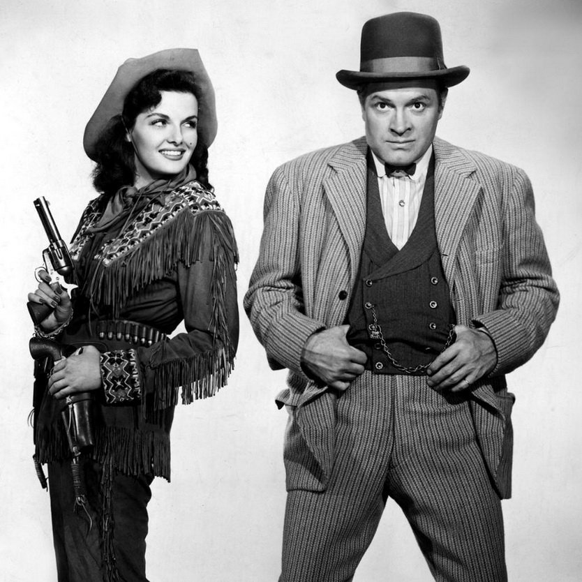 """Jane Russell and Bob Hope in """"The Paleface"""", 1948"""