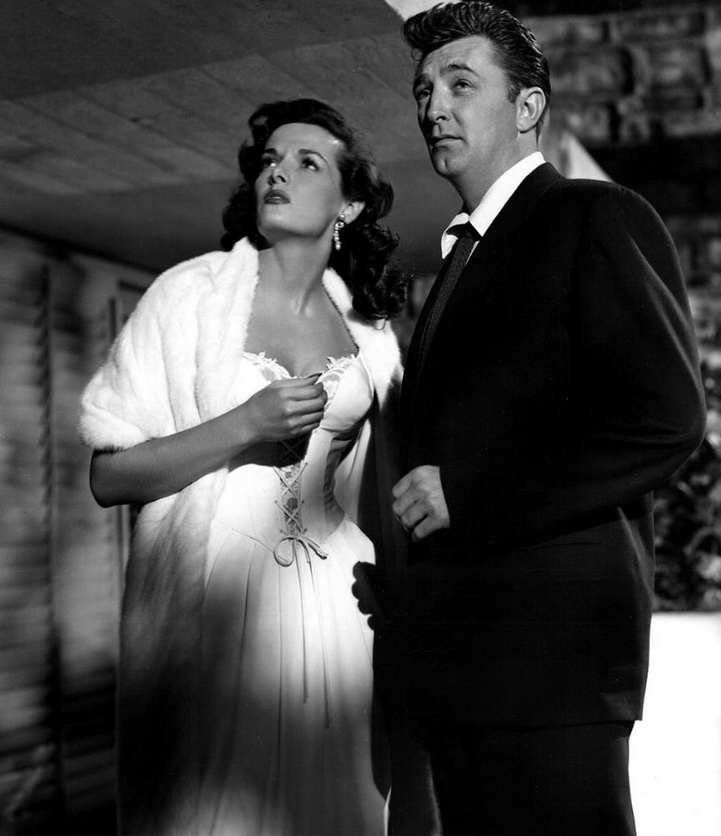 Jane Russell and Robert Mitchum, early1950s