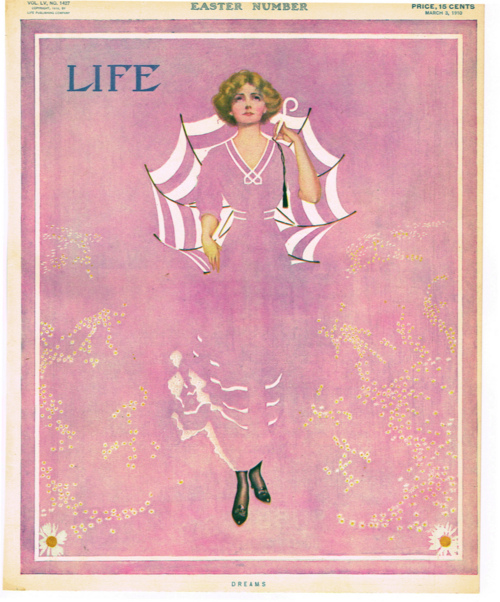 """Life magazine's """"Easter Number"""",1910"""