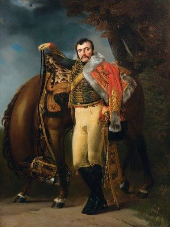 Nicolas Dahlmann, a French cavalry general of the Napoleonic wars, who died during the invasion of Russia, 1807