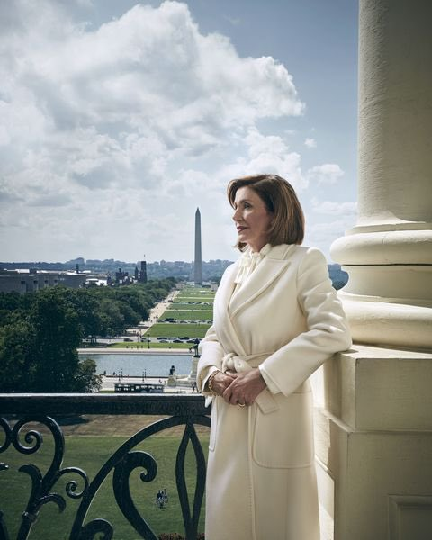 Speaker of the House (and 3rd in line to the Presidency), Nancy Pelosi