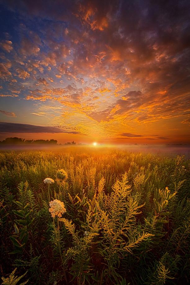 Wisconsin sunset, photo by PhilKoch