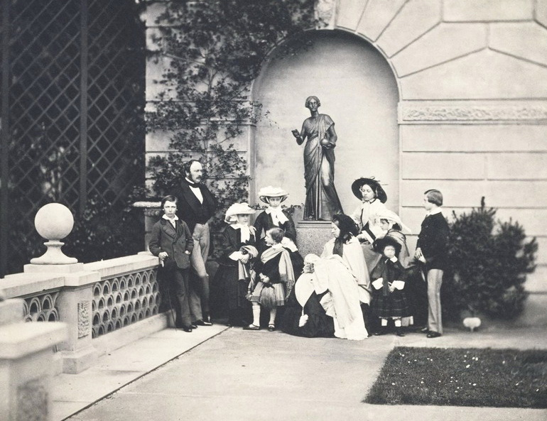 Queen Victoria, Prince Albert, and family, 1800s