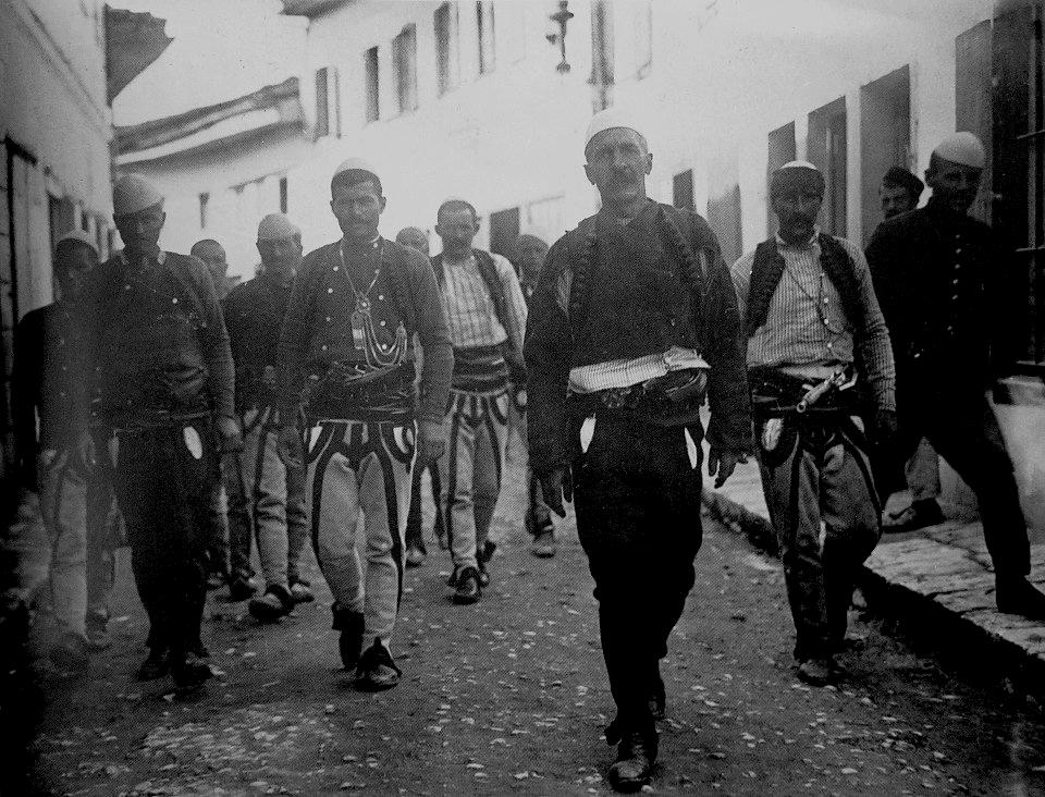 Albanian revolt against the Ottoman Empire,1912