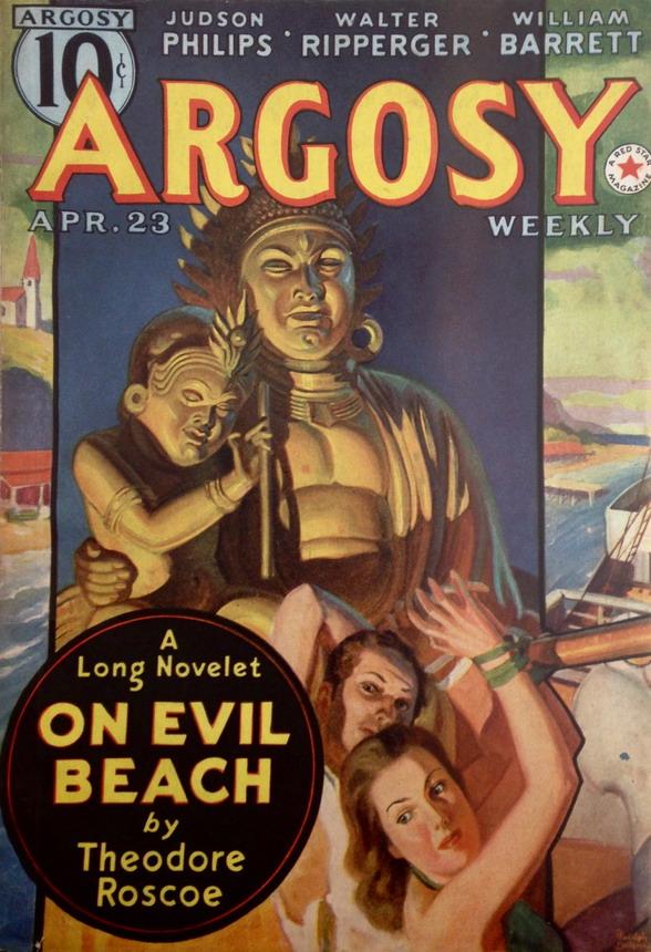 Argosy, pulp fiction magazine,1930s