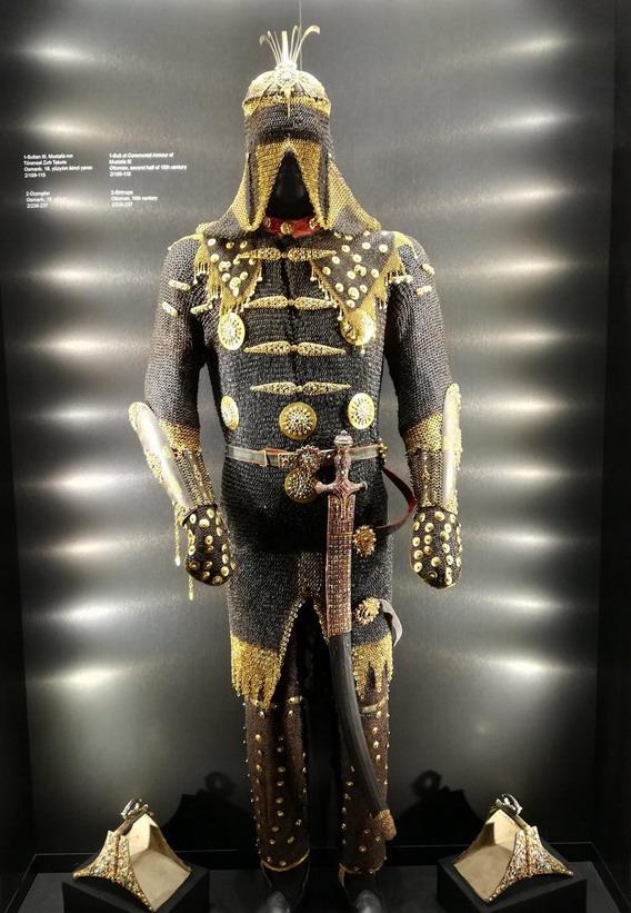 Armour of Ottoman Sultan Mustafa,Turkey