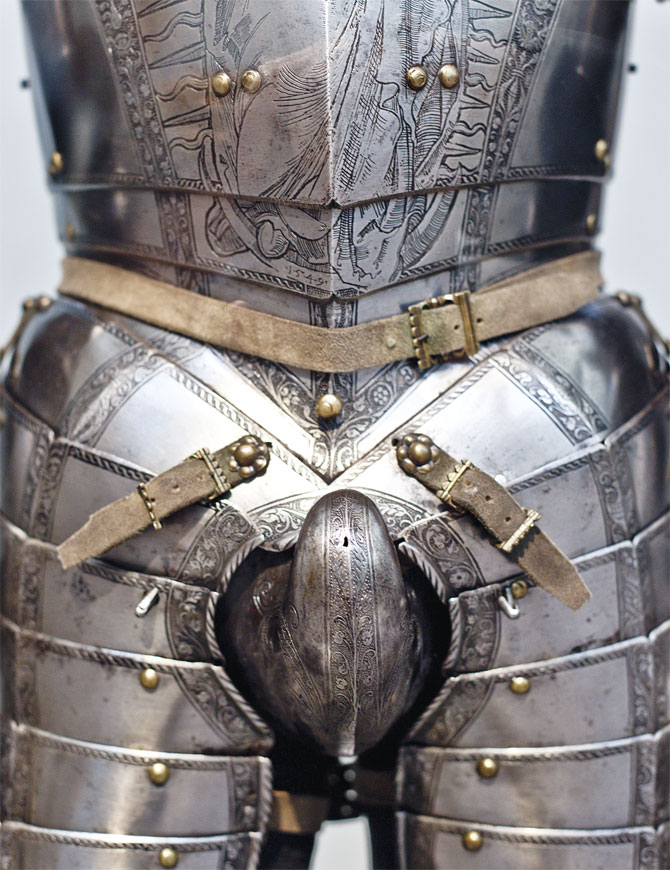 Armour and codpiece